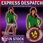 FANCY DRESS COSTUME * LADY RINGMASTER GREEN / CIRCUS 18